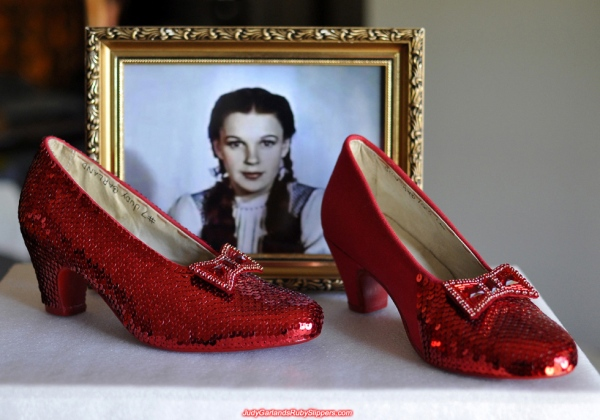 Ruby Slippers worn by Judy Garland