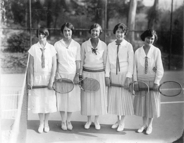 tennis pleated skirt