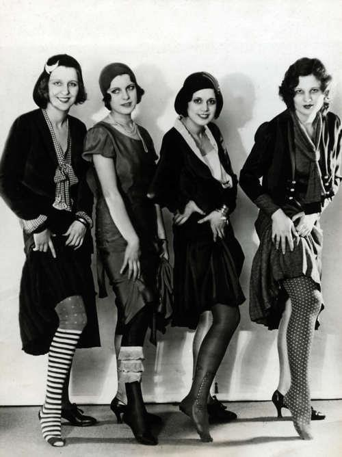 flapper stockings